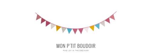 petit boudoir ~ blog Maëlle